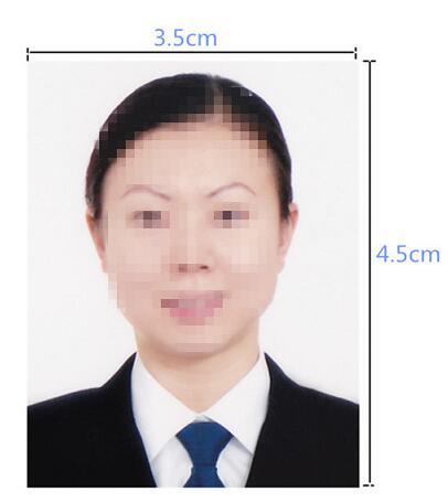 韩国签证照片